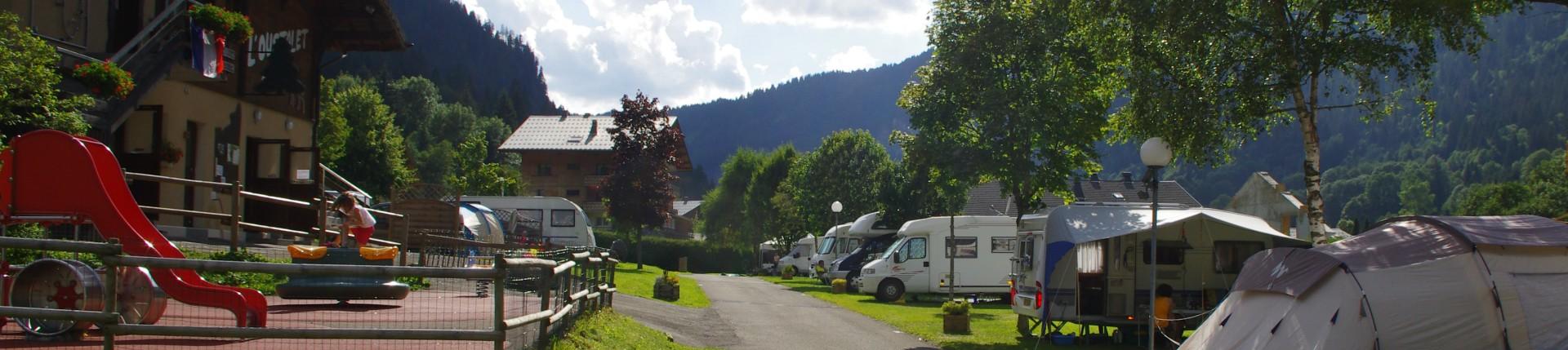 Vue montagne | Camping Oustalet - Haute Savoie