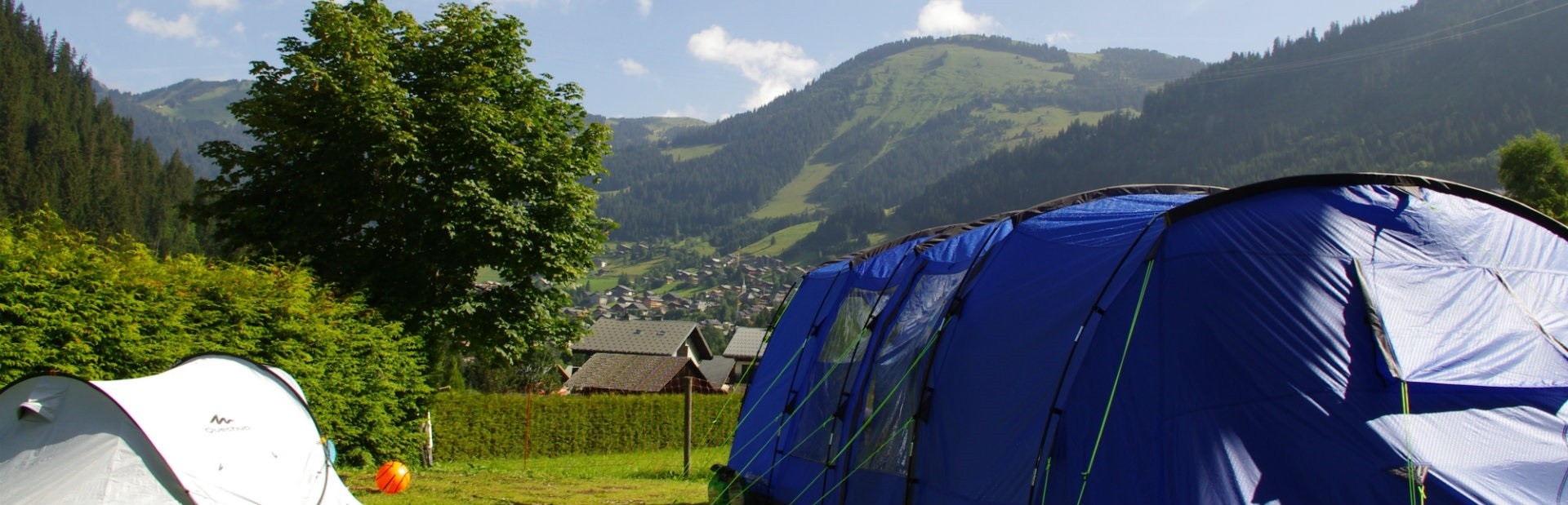 campsite l'oustalet | 4 stars with swimming pool | mountain in summer | Châtel | Haute Savoie