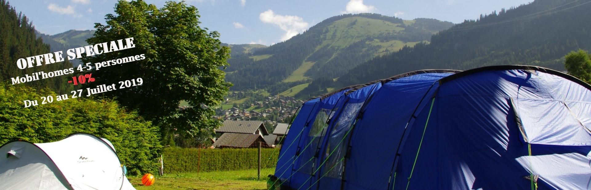 camping l'oustalet | 4 étoiles avec piscine | montagne en été | Châtel | Haute Savoie PROMO