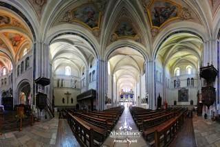 Abondance Abbey | Abondance valley | campsite l'Oustalet | Châtel