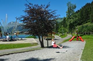 Aire de jeux du lac de Vonnes | Camping l'oustalet | Châtel
