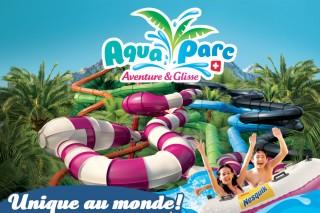 Aquaparc | Lake Geneva | Switzerland | campsite l'Oustalet | Châtel