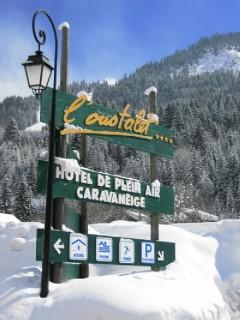 Camping l'oustalet | Châtel |4 étoiles | hiver | Haute-Savoie 1