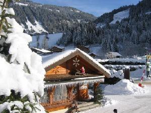 Camping l'oustalet | Châtel |4 étoiles | hiver | Haute-Savoie
