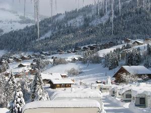 Camping l'oustalet | Châtel | 4 étoiles | hiver | Haute-Savoie 2