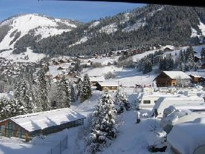 Camping l'oustalet | Châtel | piscine | 4 étoiles | hiver | Haute-Savoie