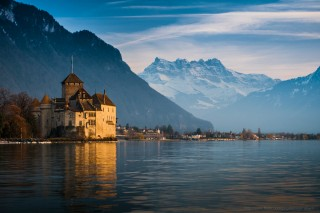 The Chillon castle | Lake Geneva | Switzerland | campsite l'Oustalet | Châtel