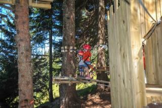 Adventure Park Châtel | campsite l'oustalet | summer | Châtel 2