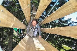 Adventure Park Châtel | campsite l'oustalet | summer | Châtel