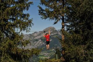 Adventure Park Châtel | campsite l'oustalet | summer | Châtel 3