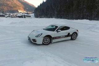 Ice driving | Abondance | campsite l'Oustalet | winter | Châtel