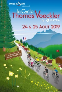 Cyclo thomas voeckler by marta Portes du soleil
