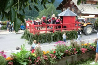 Fête de la Saint Laurent | campsite l'oustalet | Châtel