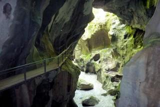 Gorges du Pont du Diable | Haute-Savoie | camping l'Oustalet | Châtel