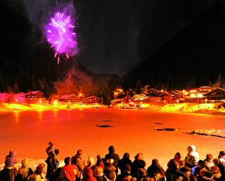 new year in châtel