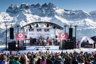 Rock the Pistes Festival | campsite l'oustalet | châtel | portes du soleil | events