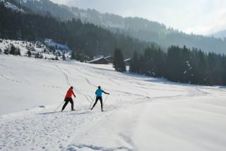 ski de fond | camping l'oustalet | châtel