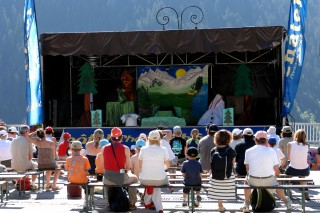 Children's shows | campsite l'oustalet | summer | Châtel