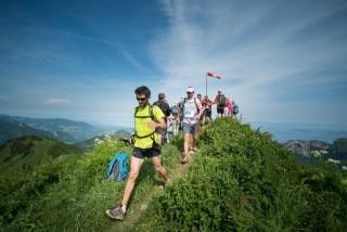 Trail des Crêtes du Chablais | TCC | campsite l'oustalet | châtel