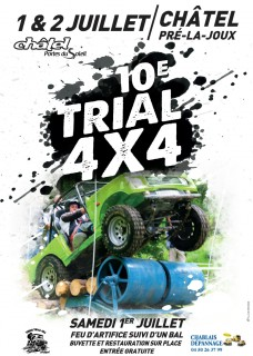 Trial 4x4 in Châtel