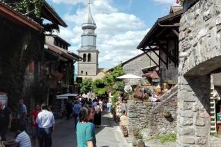 Village médiéval d'Yvoire | Lac Léman | Haute-Savoie | Camping l'Oustalet | Châtel