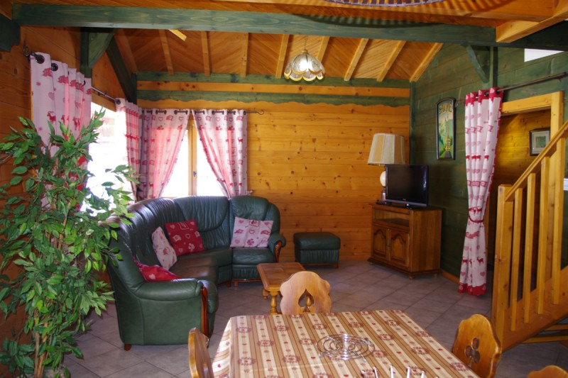 appartement-chalet | camping l'oustalet | châtel | 1