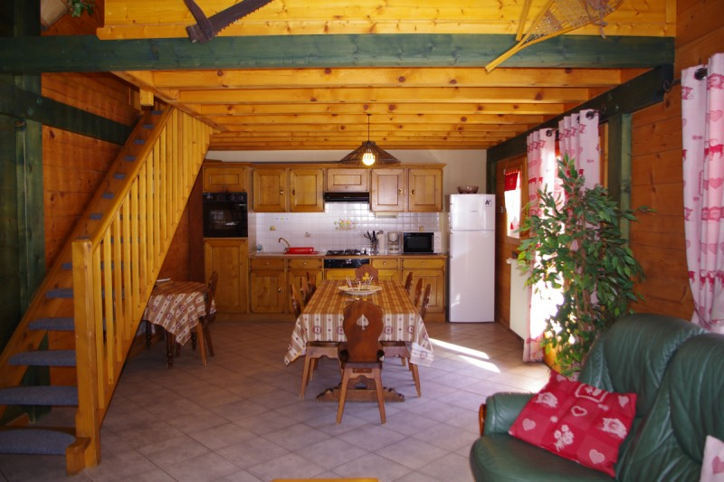appartement-chalet | camping l'oustalet | châtel | 2
