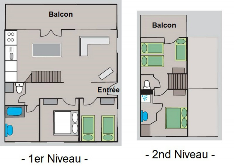 appartement-chalet | camping l'oustalet | châtel | 8