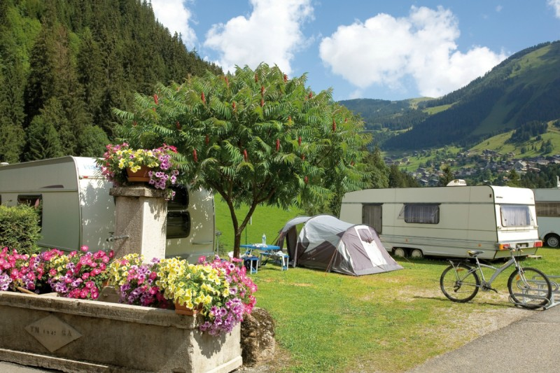 campsite l'oustalet 4 stars | heated swimming pool | summer | mountain | châtel | haute savoie | 1