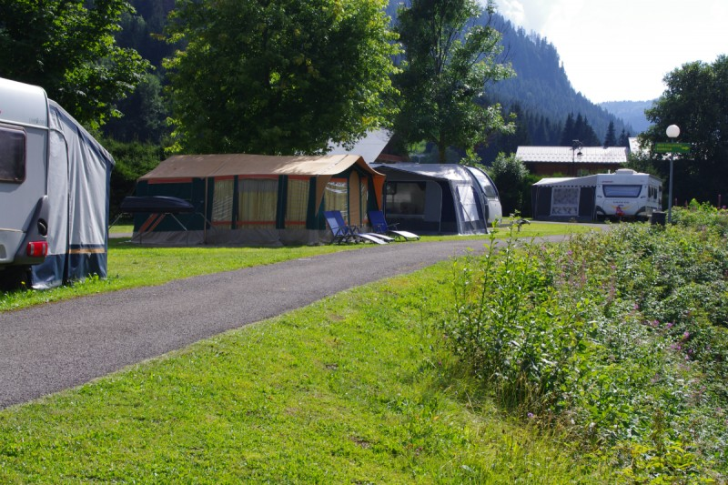 campsite l'oustalet 4 stars | heated swimming pool | summer | mountain | châtel | haute savoie | 3