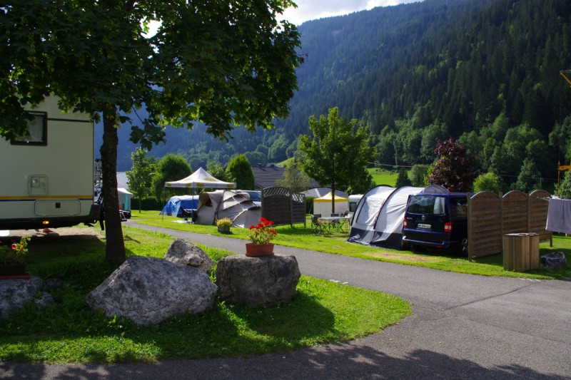 campsite l'oustalet 4 stars | heated swimming pool | summer | mountain | châtel | haute savoie | 6