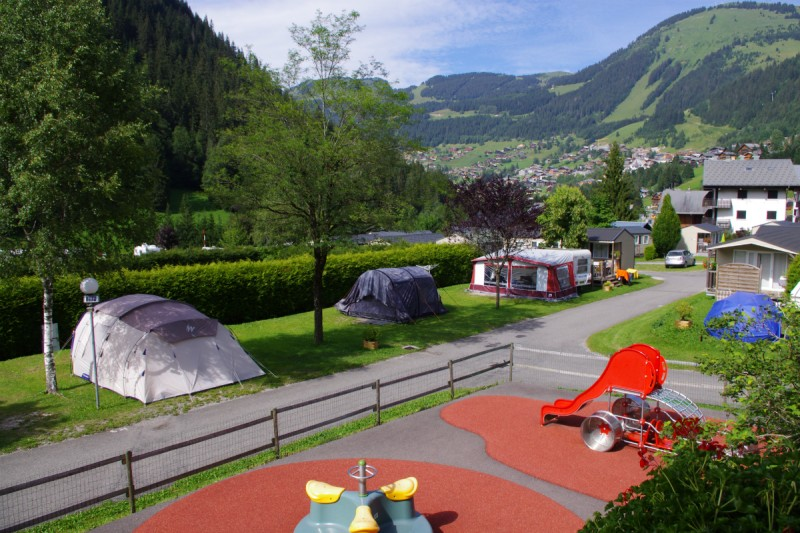 campsite l'oustalet 4 stars | heated swimming pool | summer | mountain | châtel | haute savoie | 7