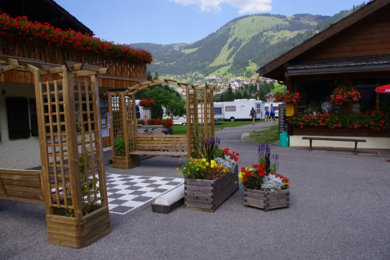 campsite l'oustalet 4 stars | heated swimming pool | summer | mountain | châtel | haute savoie | 8