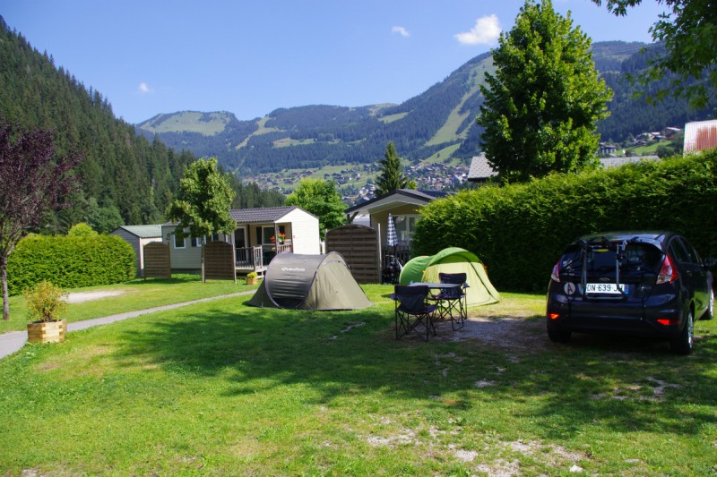 campsite l'oustalet 4 stars | heated swimming pool | summer | mountain | châtel | haute savoie | 9