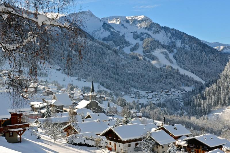 campsite l'oustalet | campsite in a ski resort | winter | châtel | portes du soleil | 3