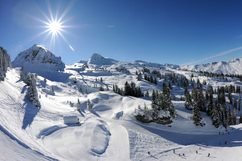 domaine skiable | portes du soleil | camping l'oustalet | jf vuarand | 1