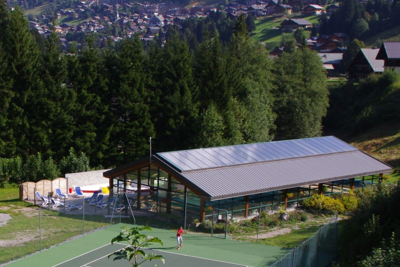 l'oustalet | campsite with swimming pool | 4 stars | mountain in summer | châtel | haute savoie