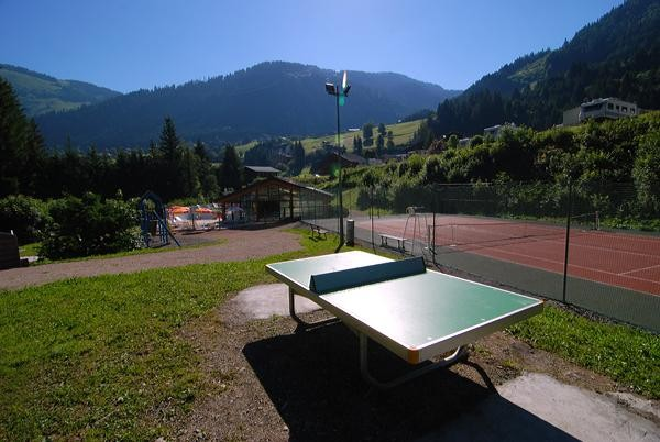 Ping-pong, tennis and swimming pool