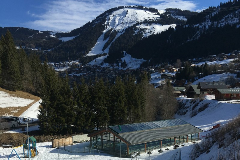 Heated indoor swimming pool | campsite l'Oustalet | 4 stars | Châtel | Haute-Savoie 1