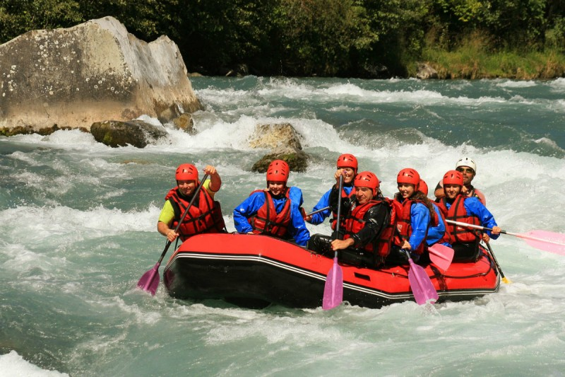 rafting | camping l'Oustalet | Châtel