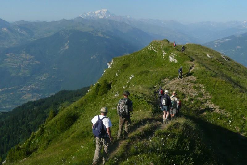 randonnee en montagne | Camping l'Oustalet | Châtel