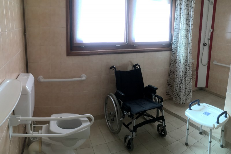 Sanitaries for handicapped persons