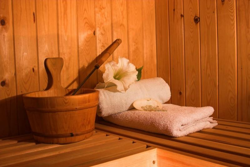 sauna | campsite l'oustalet | châtel |1