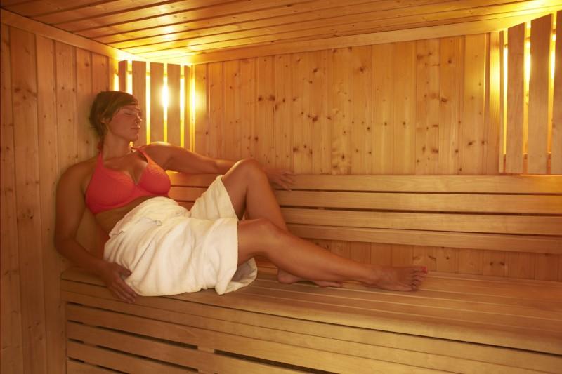 sauna | campsite l'oustalet | châtel