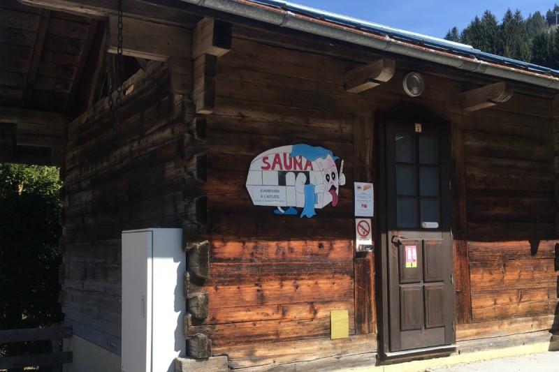 sauna | campsite l'oustalet | châtel |2